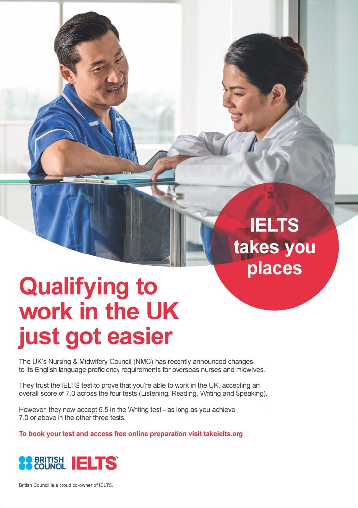 IELTS Examination – Chaucer College